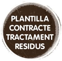 Plantilla contracte trac. residus