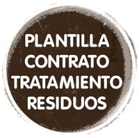 Plantilla contrato trat. residuos